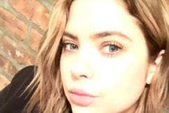 Ashley Benson bronde hair colour bob