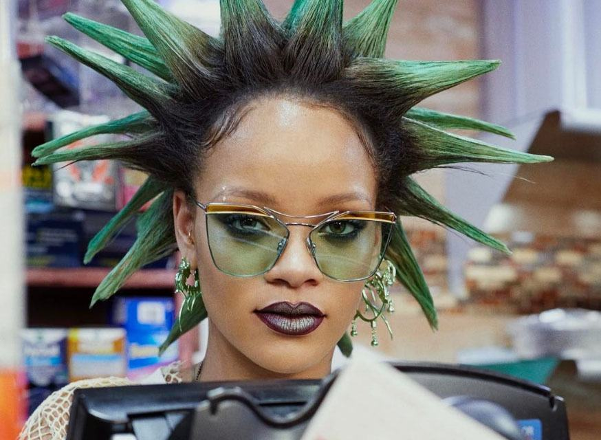 Have You Seen Rihannas Bold Hairstyles For Paper Magazine