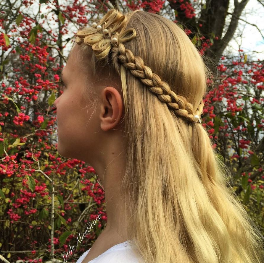 styles of hair bows stunning bow braid hairstyles and how to create them 5720