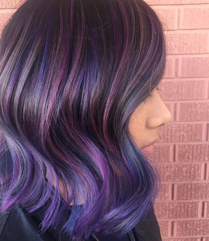 Geode hair - Instagram