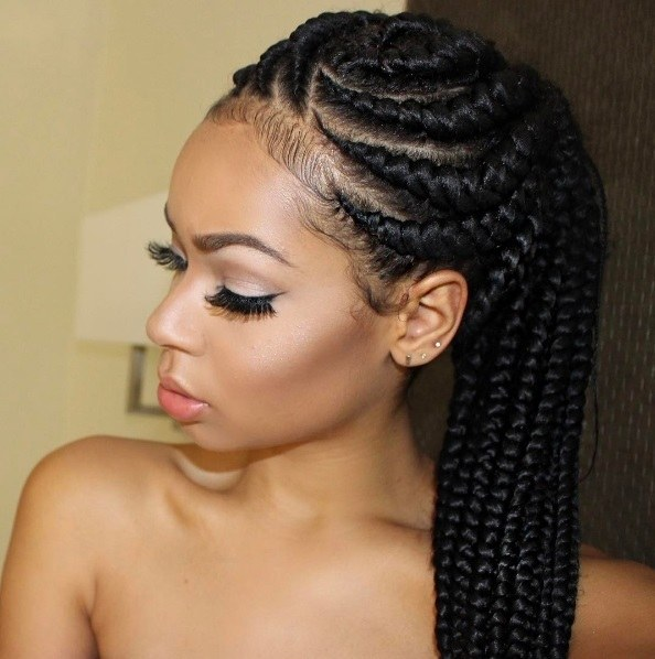 6 Glorious goddess braids hairstyles to inspire your next look