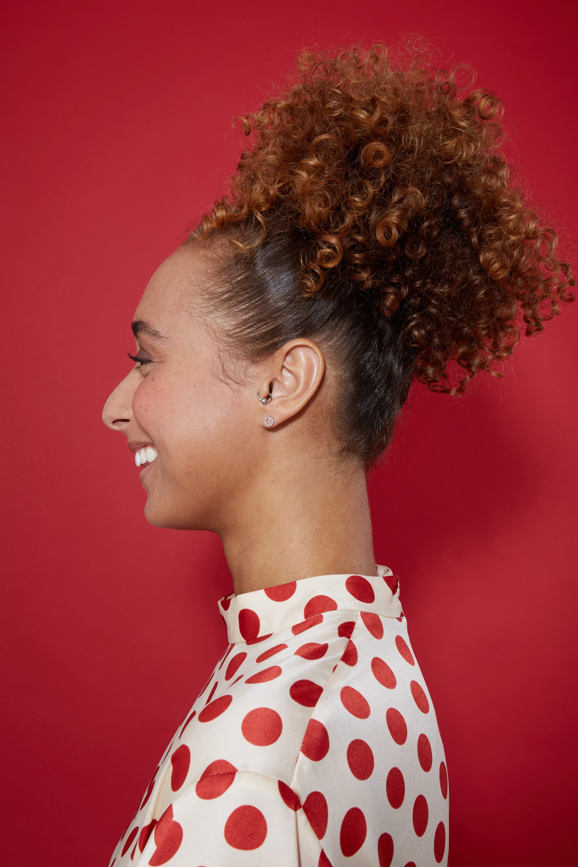 18 Easy Hairstyles for Short Curly Hair   All Things Hair UK