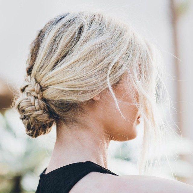 individual braids low bun 72 box braids hairstyles with