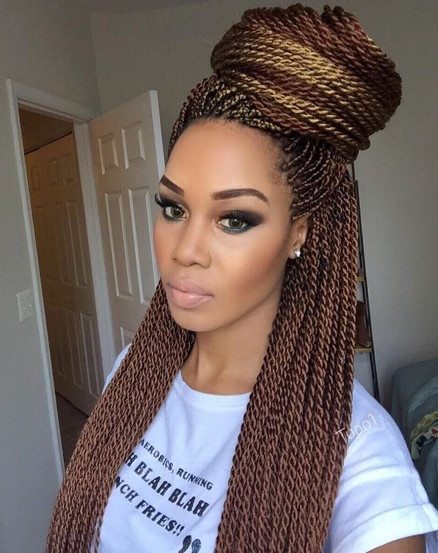 Senegalese twist styles: Ways to work this natural hair look
