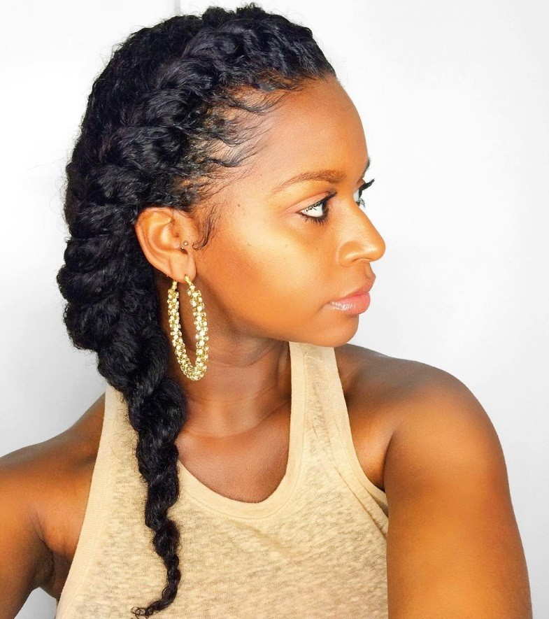 Groovy 7 Two Strand Twist Styles That Are Giving Us Natural Hair Envy Short Hairstyles For Black Women Fulllsitofus