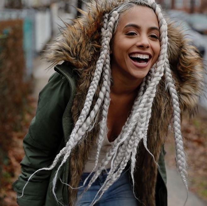 Inspiring Ways To Style Your Thick Box Braids