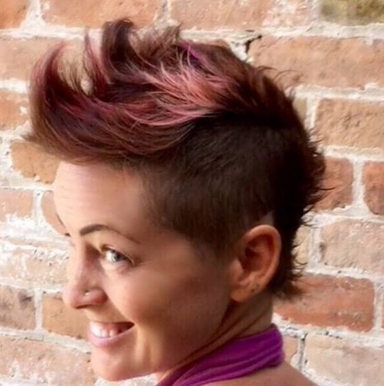 How to rock punk hairstyles for short hair this festival season