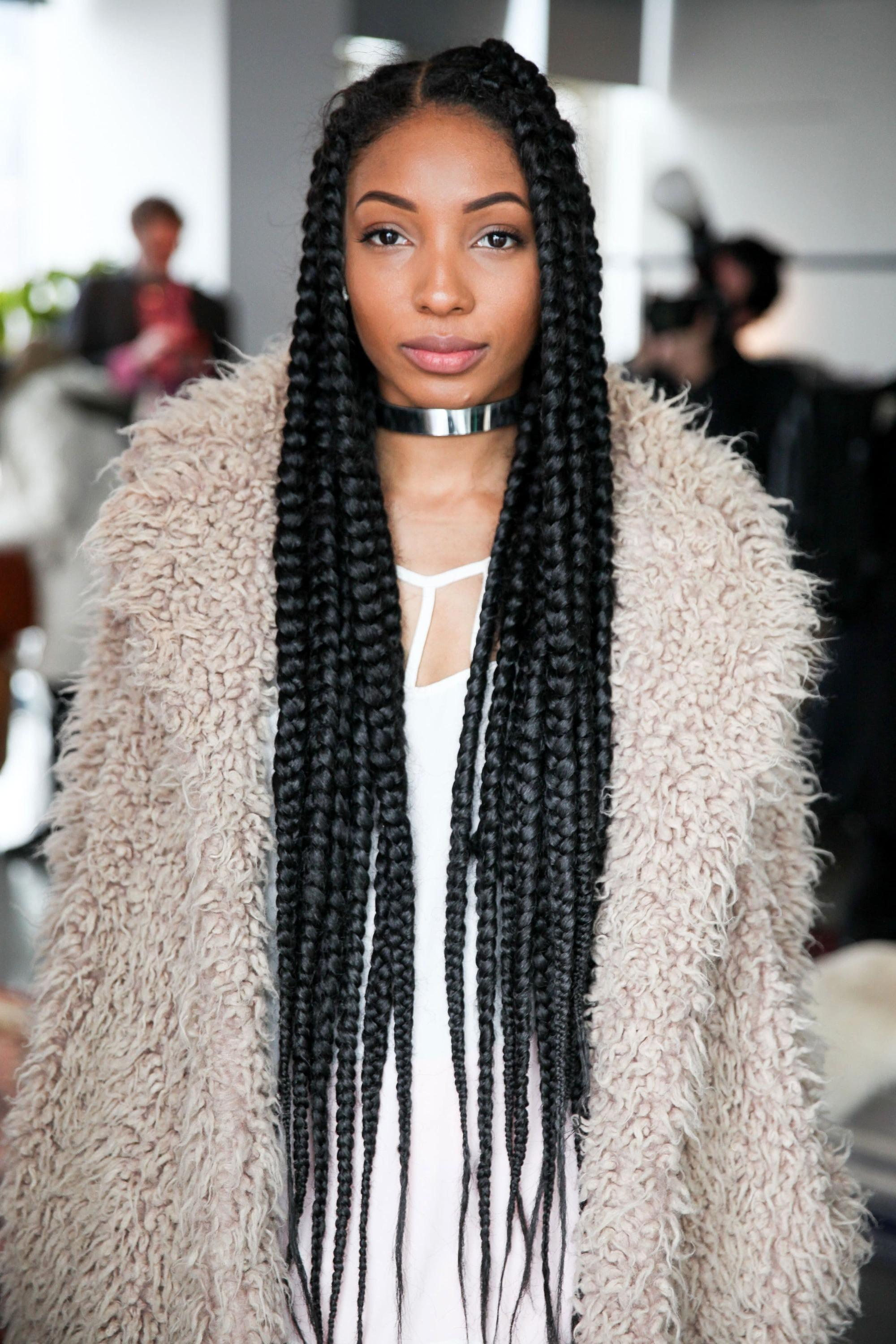 Celebrities Rocking Poetic Braids: The Best A-list Looks