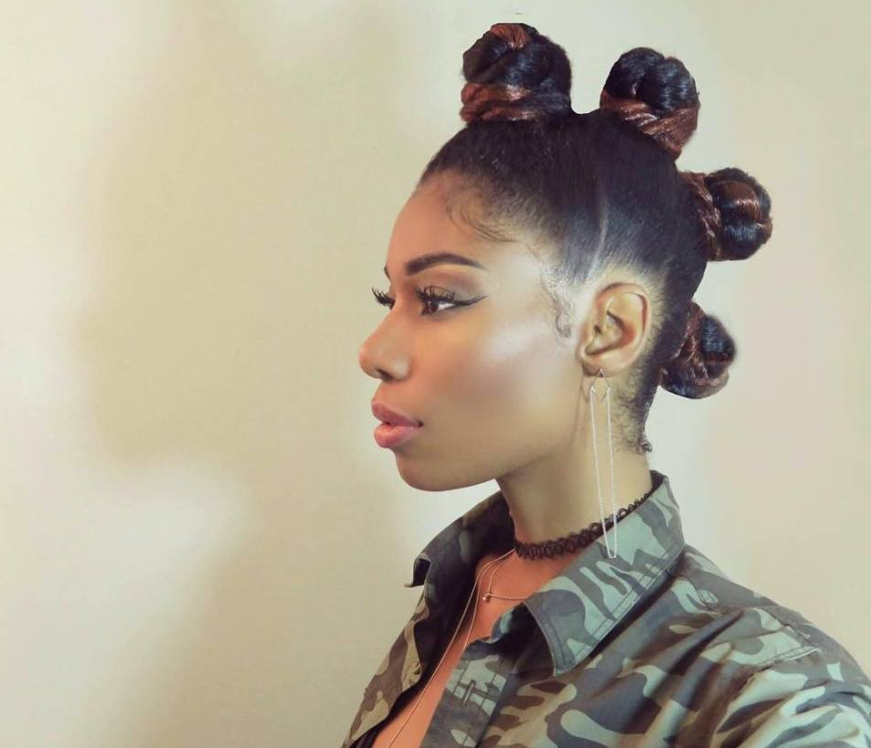 How to part your hair for bantu knots: follow our step by step bantu knots guide for a mohawk look - Instagram