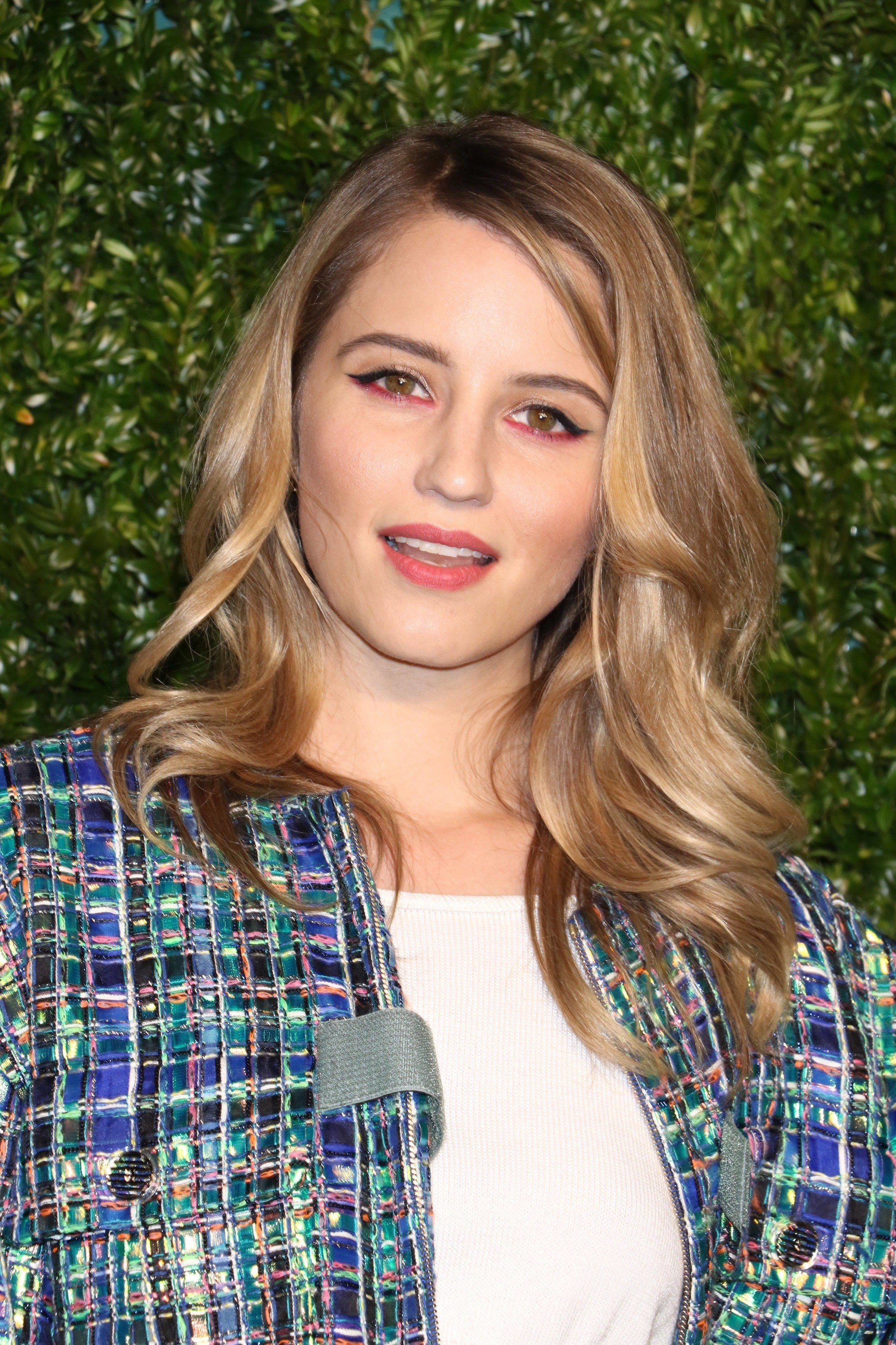 Diana Agron's bouncy waves at the Chanel Tribeca Film Festival Artists Dinner