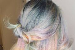 Festival hair - holographic hair - Instagram trend