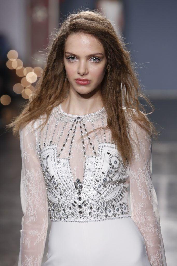 Bridal Fashion Week Spring 2018 Top 6 Wedding Hair Trends All