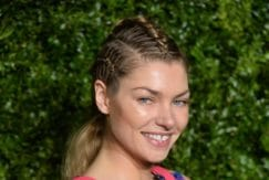 Jessica Hart's braided updo - Chanel Tribeca Film Festival Artists Dinner