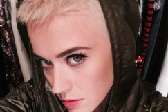 hair transformations: katy perry with short buzz cut with fade