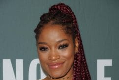 ghana braids hairstyles: keke palmer with in a ponytail
