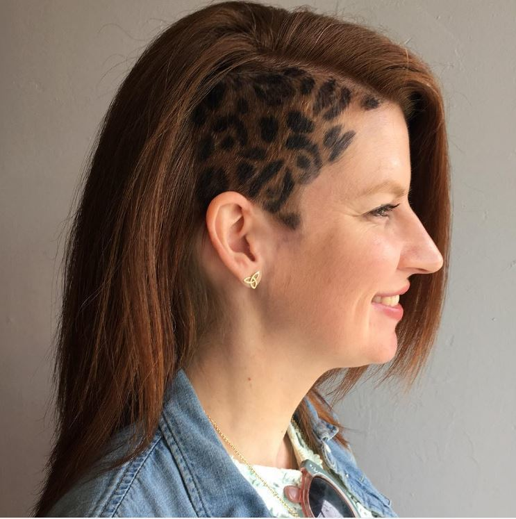 leopard hair style leopard print hair the hair craze spotted on instagram 2090