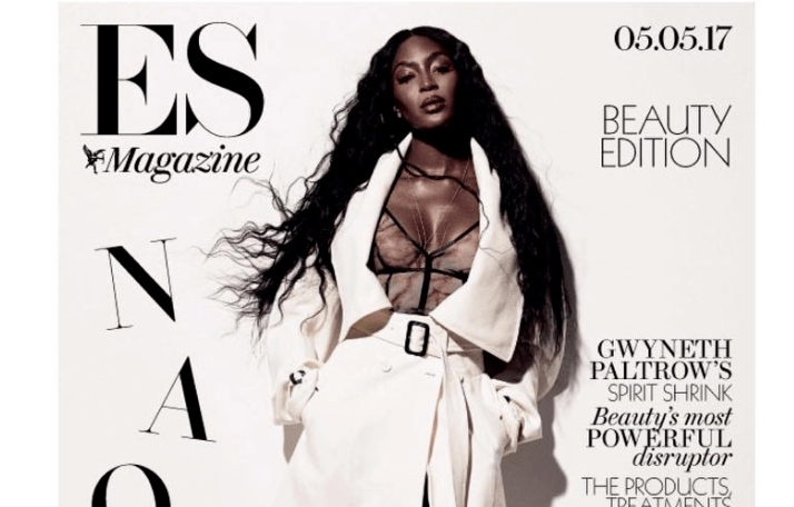 The Naomi Campbell cover of ES Magazine 05/05/2017