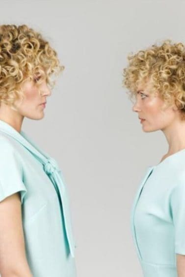 Perm hair - short blonde perm on two women - Instagram