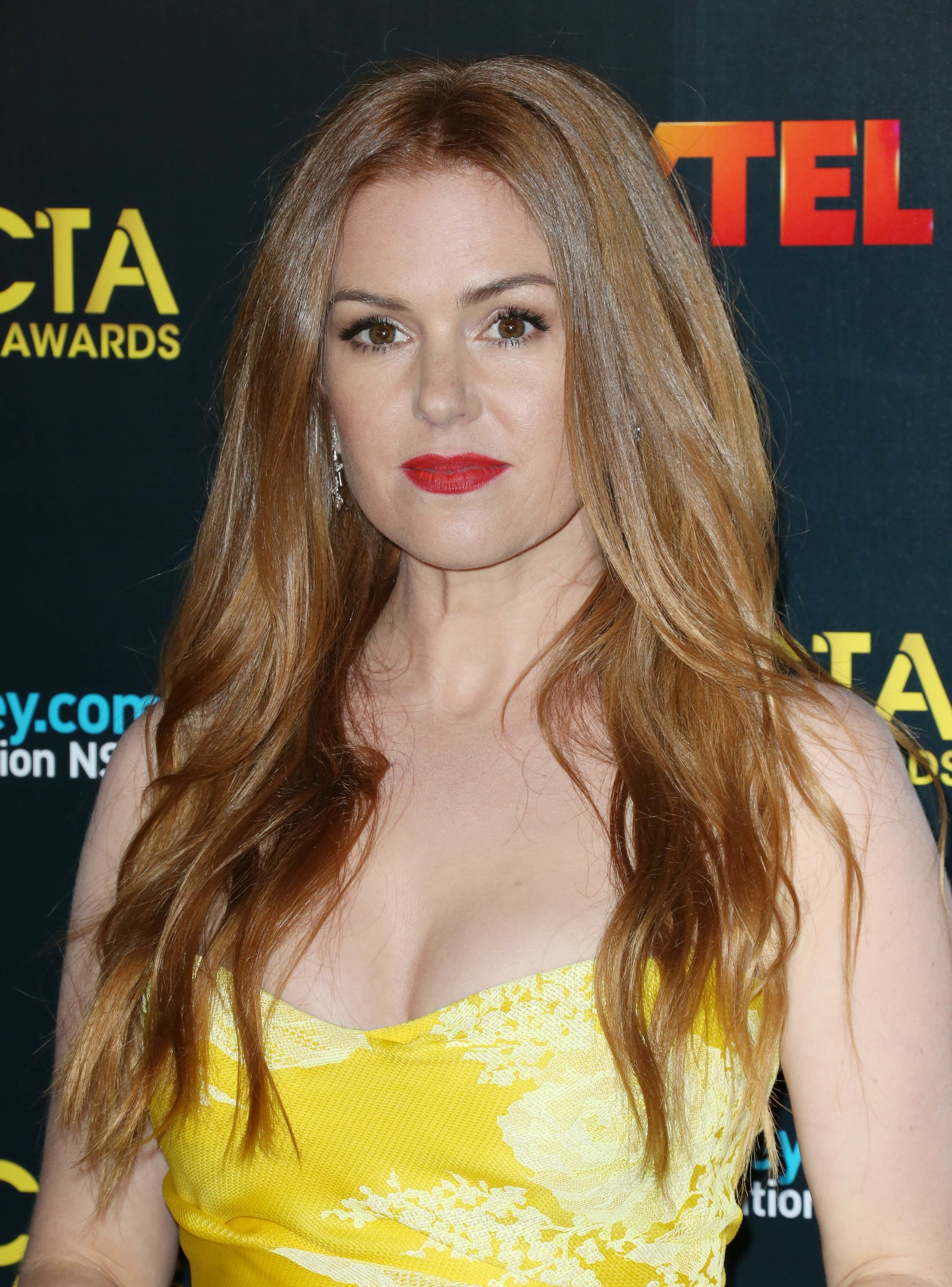 Isla Fisher Blonde