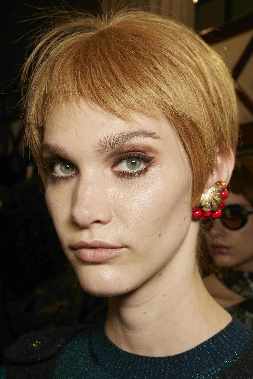 Strawberry blonde- pixie crop- fashion show