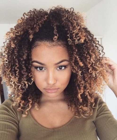 Black Ice Hair Spray >> 9 seriously cute blonde curly hair looks you need to try