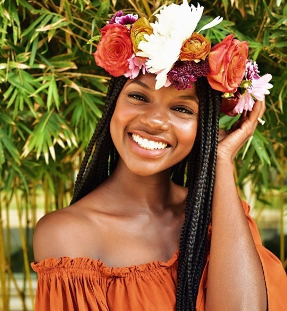 Wedding Hairstyles With Box Braids: 17 Fascinating Flower Girl Hairstyles That You Won't Want