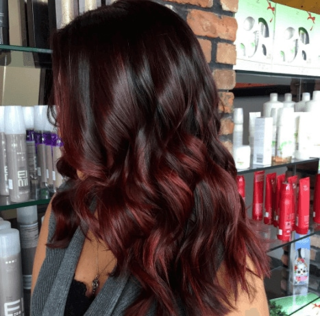 Hair Color Black 129449 What Idea Cherry