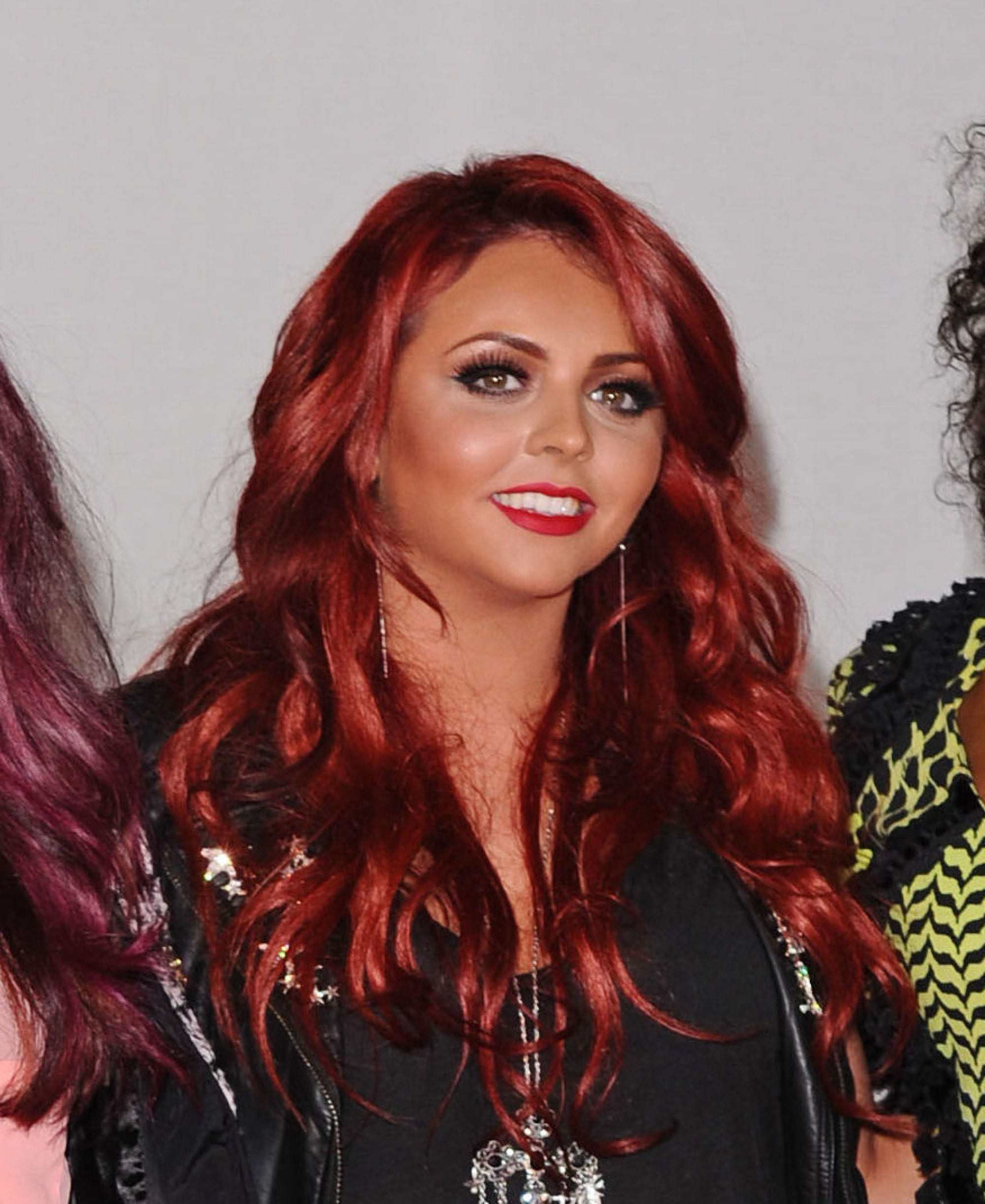 jesy nelson with ariel red hair in 2012