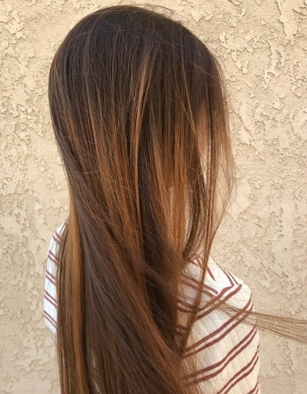 12 Hair Colours With Caramel Highlights We Can T Get Enough Of