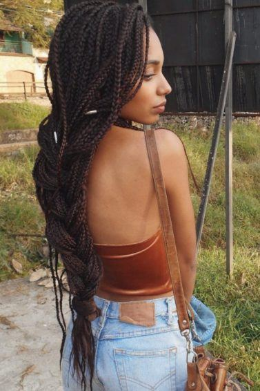 11 Ways To Pull Off Boho Box Braids In 2018 And Beyond