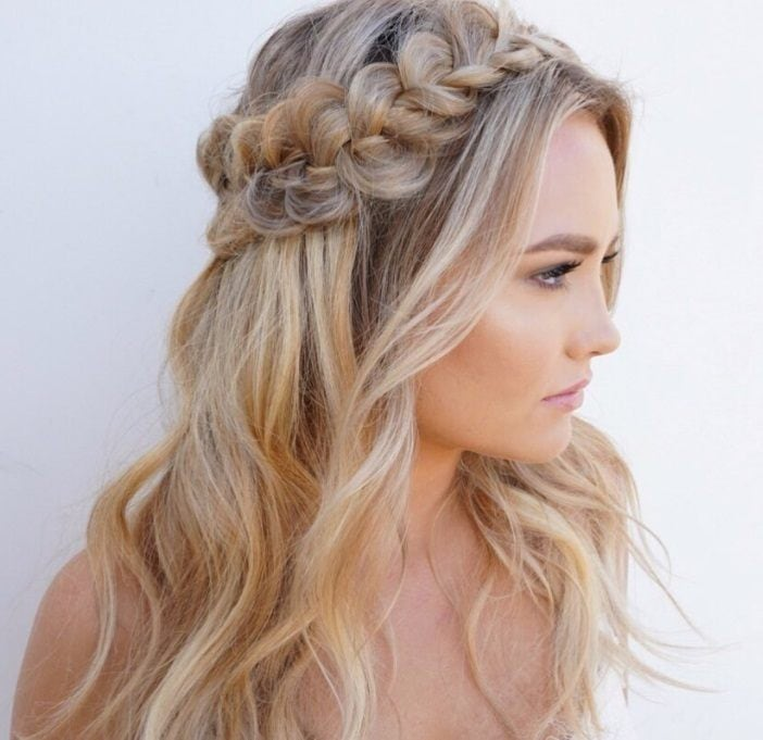 Horoscope Bridal Looks 12 Half Up Half Down Wedding Hair Ideas To