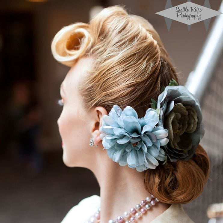 Wedding Hairstyle Roll: 11 Of The Most Stunning Vintage Hairstyles To Consider For