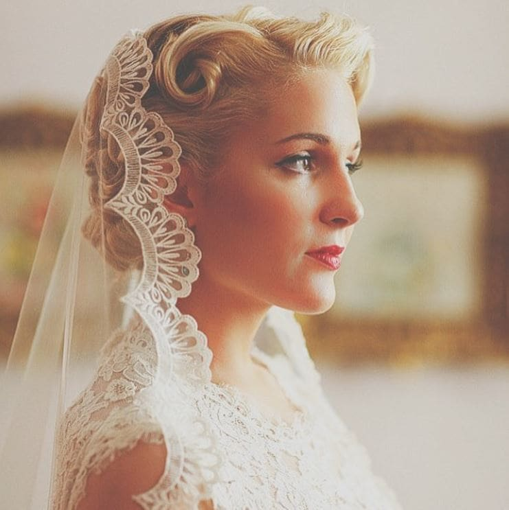 47 Stunning Wedding Hairstyles All Brides Will Love: 11 Of The Most Stunning Vintage Hairstyles To Consider For