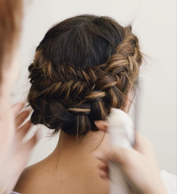 23 Evergreen Romantic Bridal Hairstyles: 23 Braided Wedding Hair Ideas That'll Look Perfect For