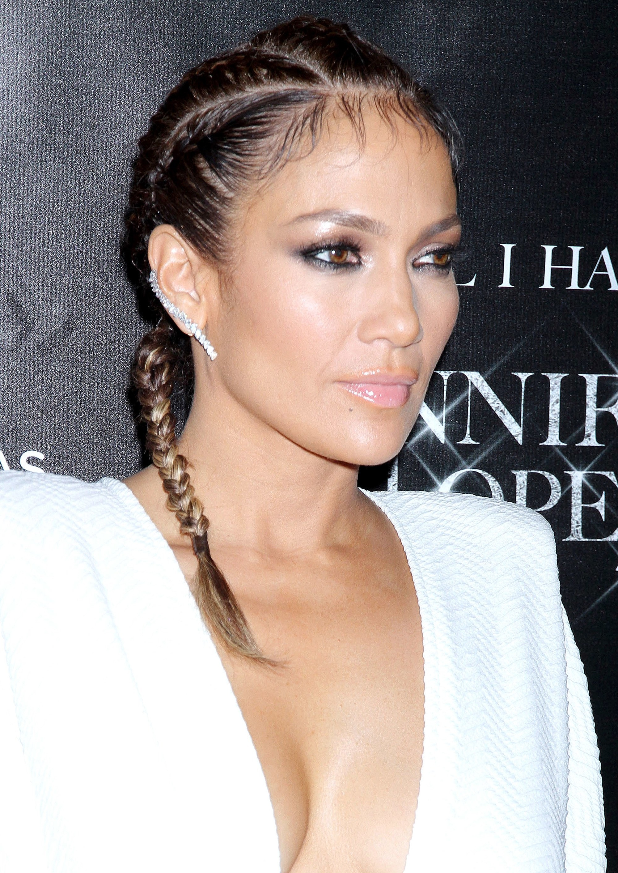 Jennifer Lopez - 2015 - Mane moments - cornrow braids