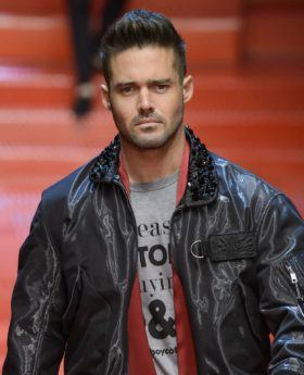 made in chelsea star spencer matthews on the dolce and gabbana runway