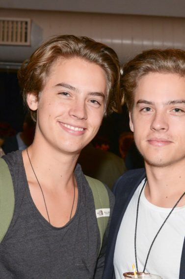 Dylan Sprouse and Cole Sprouse at an event