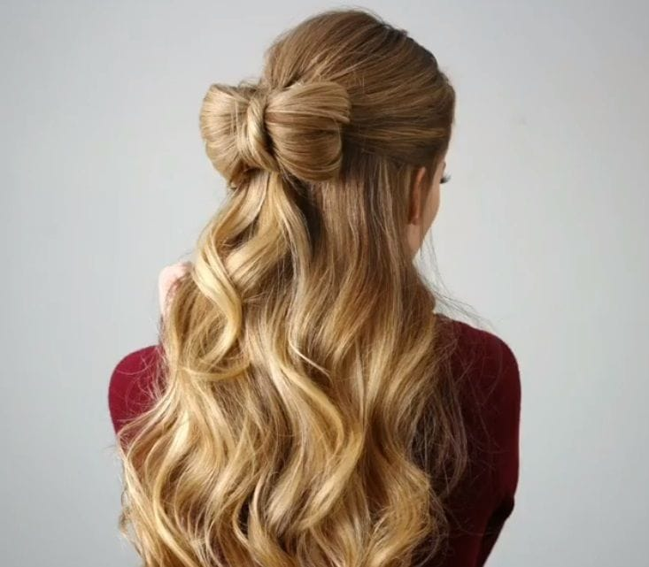 30 Stunning Half Up Half Down Prom Hairstyles To Copy All Things