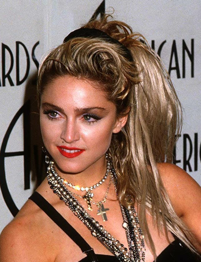 Madonna's most memorable hairstyles from over the years