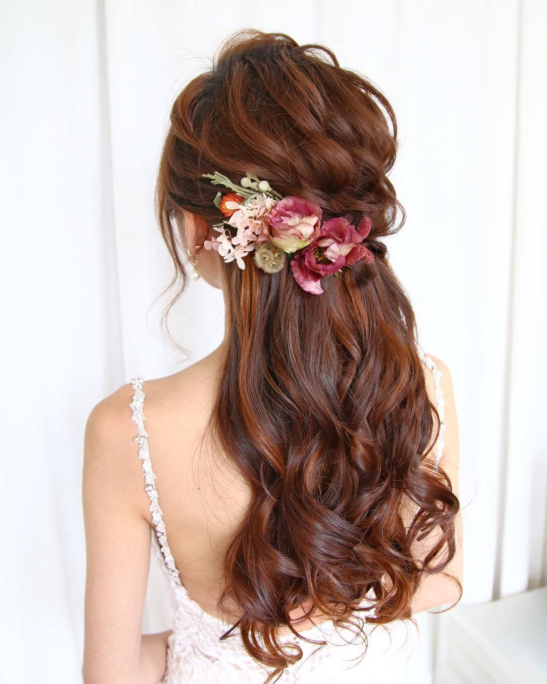 23 Stunning Half-Up, Half-Down Wedding Hairstyles