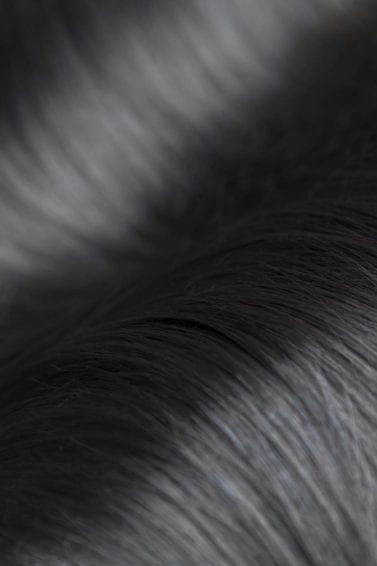 Hair porosity how to tell if low or high porosity hair close up of black shiny hair