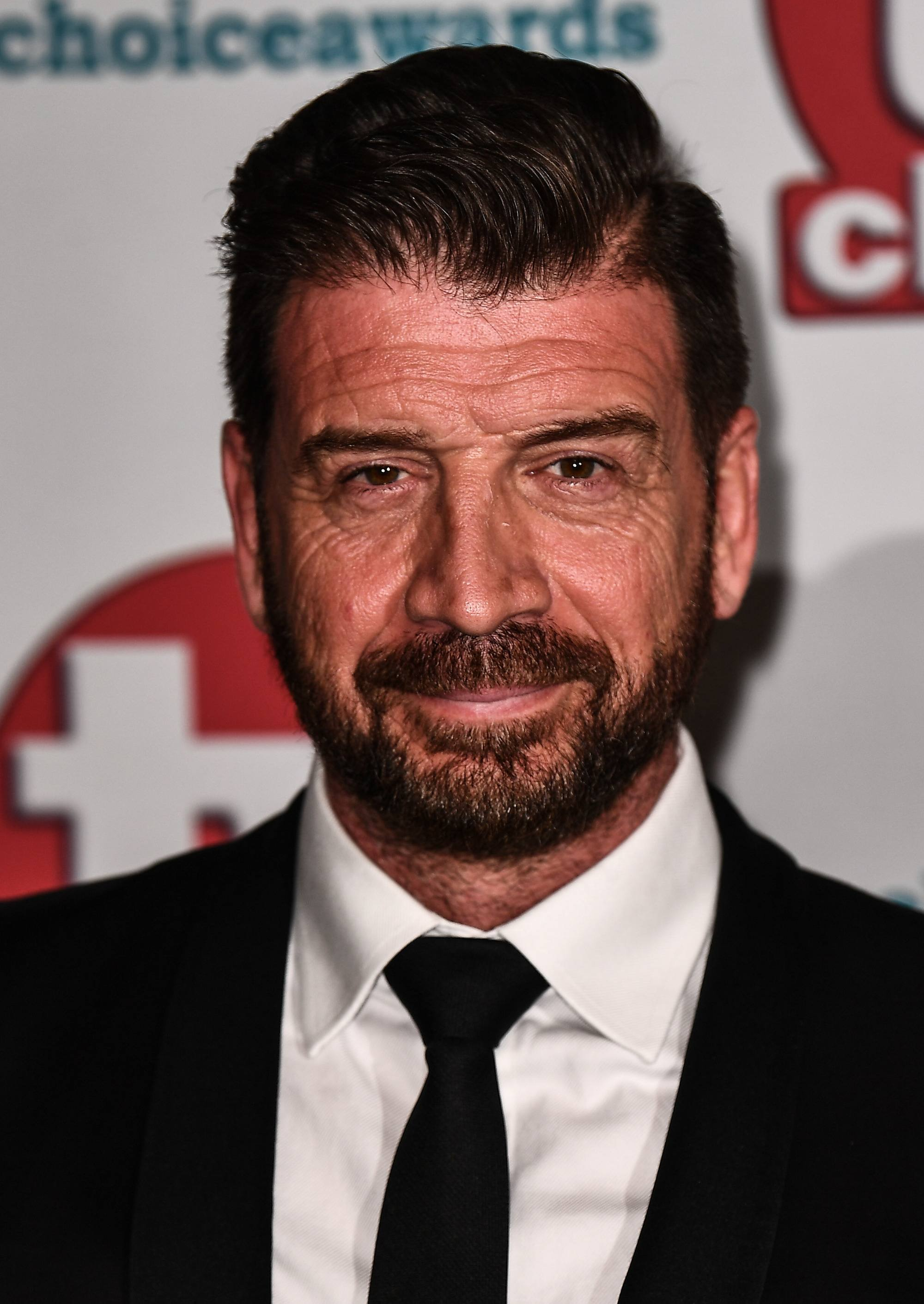 Close up shot of Nick Knowles at the TV Choice Awards 2017