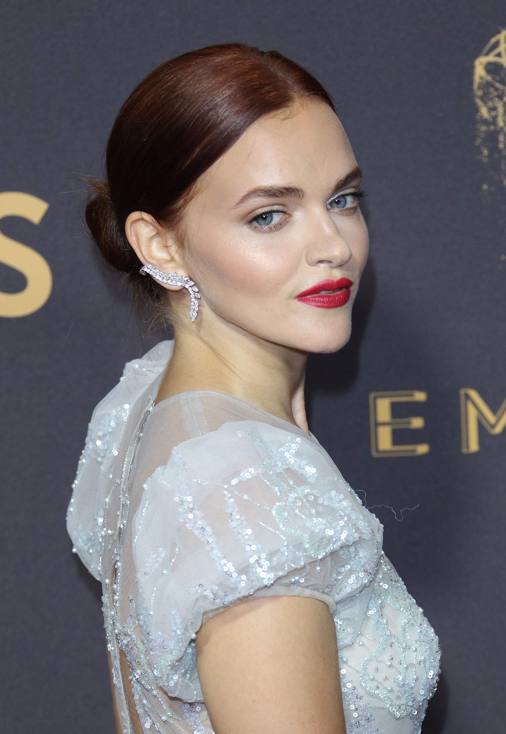 side shot of madeline brewer