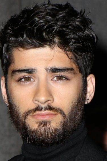 Zayn Malik at the Tom Ford presentation