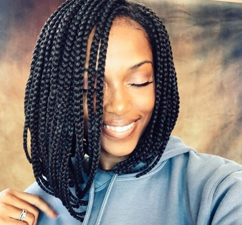 7 Reasons You Should Rock An On Trend Box Braids Bob Style