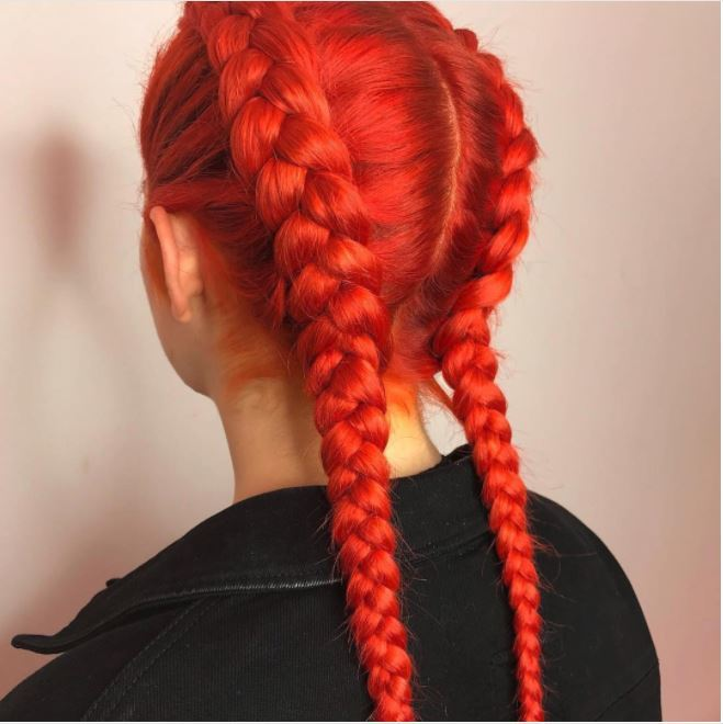 View hair colors on yourself best hairstyles 2018 best 25 indigo hair ideas on pinterest oil slick solutioingenieria Images