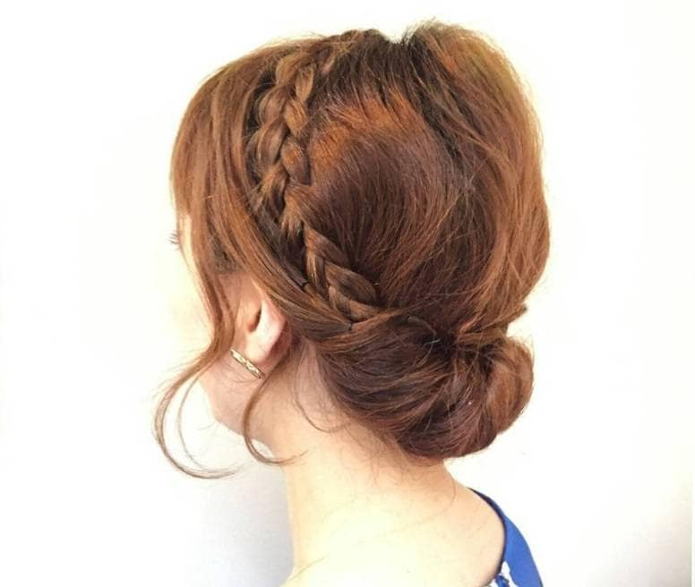 6 Non Basic Hair Updos For Medium Length Hair You Ll Want To Try