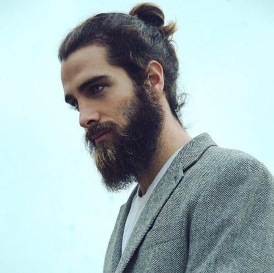 12 Man Bun And Beard Combos Worth Trying All Things Hair Uk