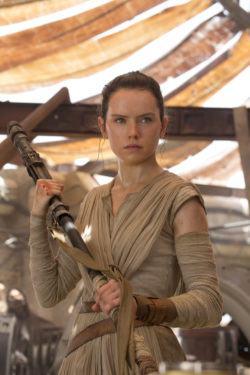 Daisy Ridley AKA Rey from Star Wars - The Force Awakens - 2015