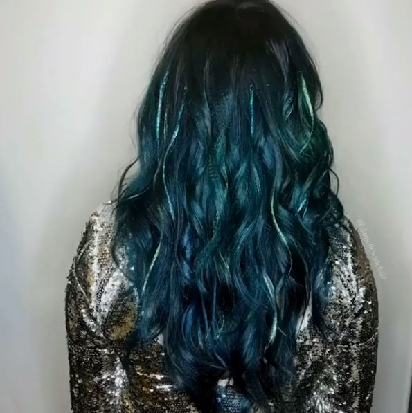 Glitterage Is The Sparkly New Way To Wear Your Hair This Party Season